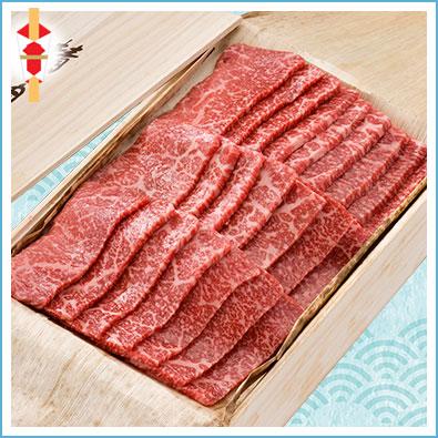 【上撰】黒毛和牛焼肉(もも) 430g
