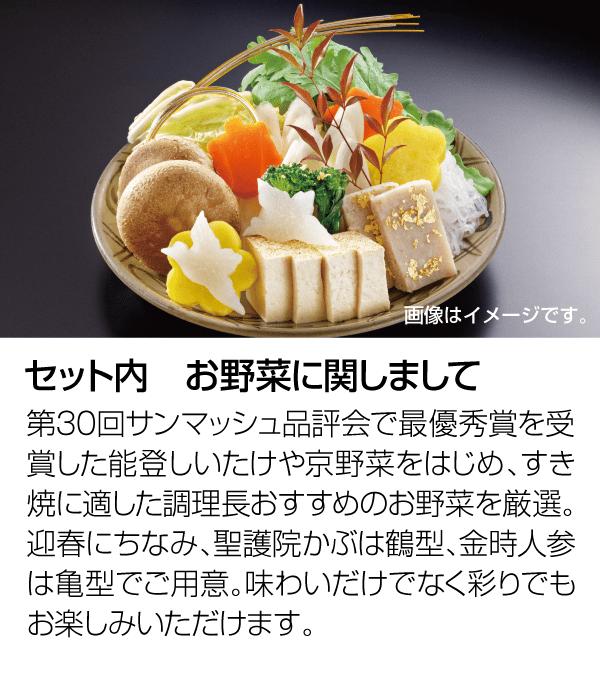 セット内野菜について