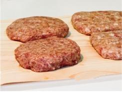 ハンバーグ調理イメージ画像