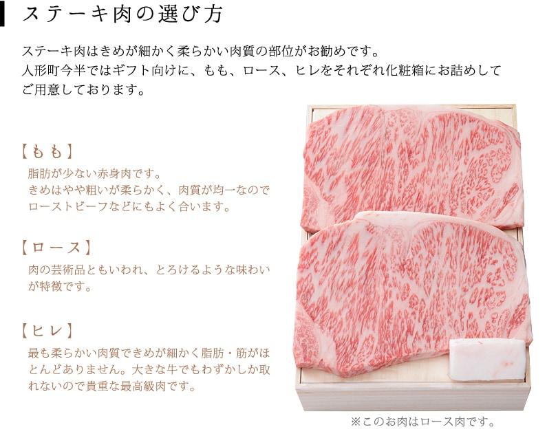 ステーキの選び方