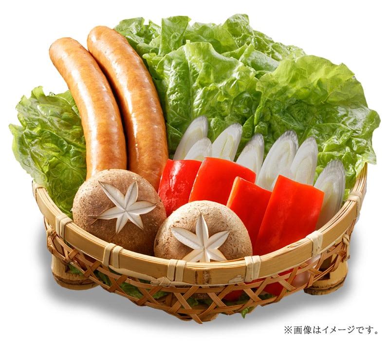 焼肉セットの お野菜