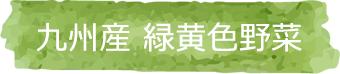 九州産緑黄色野菜