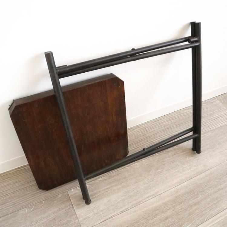 サイドテーブル四角形折り畳み