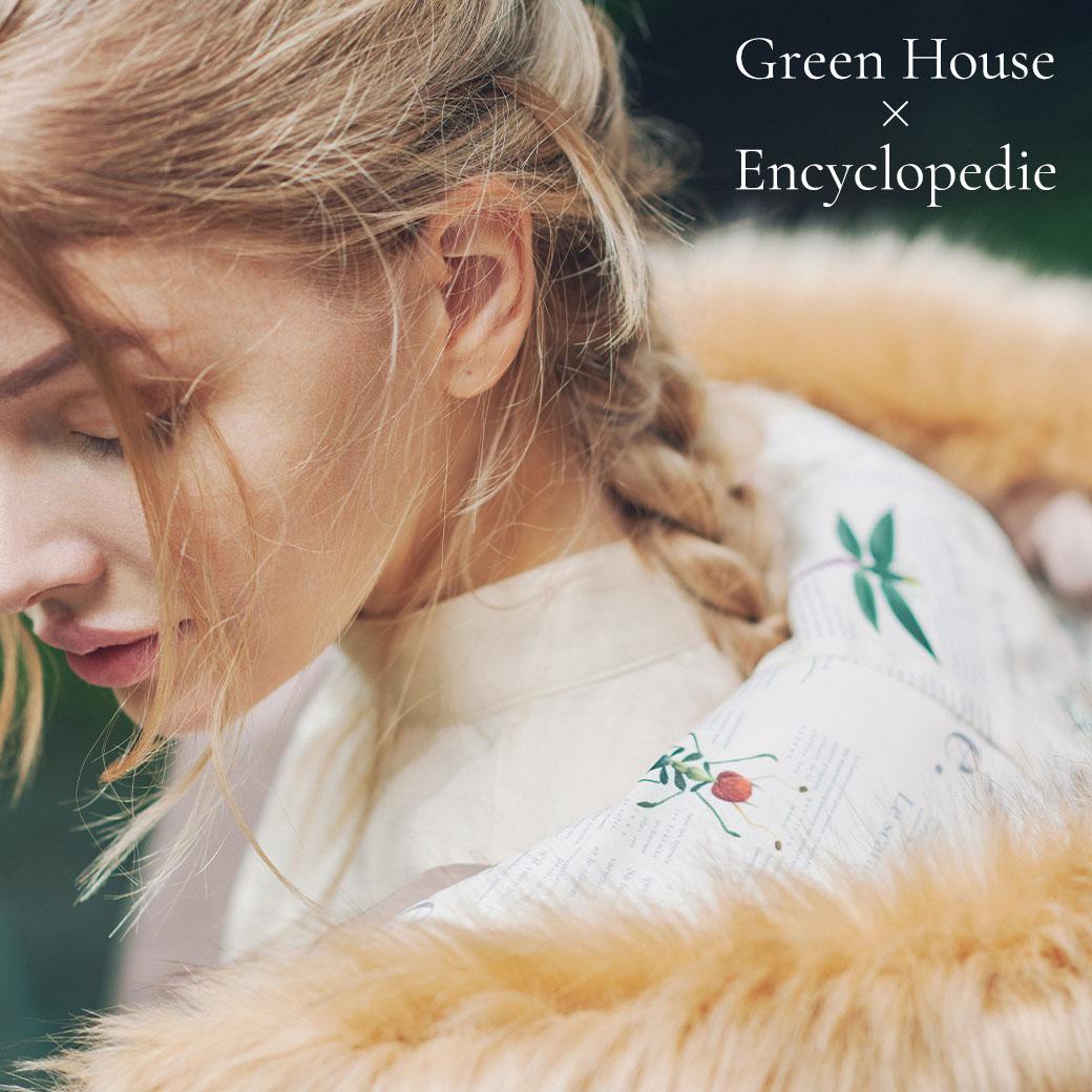 OTONA Green House×裏地Encyclopedie再生中綿 ジャケット