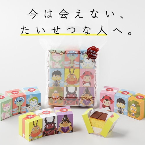 【福砂屋×INSECT LAND】キューブカステラ9個セット