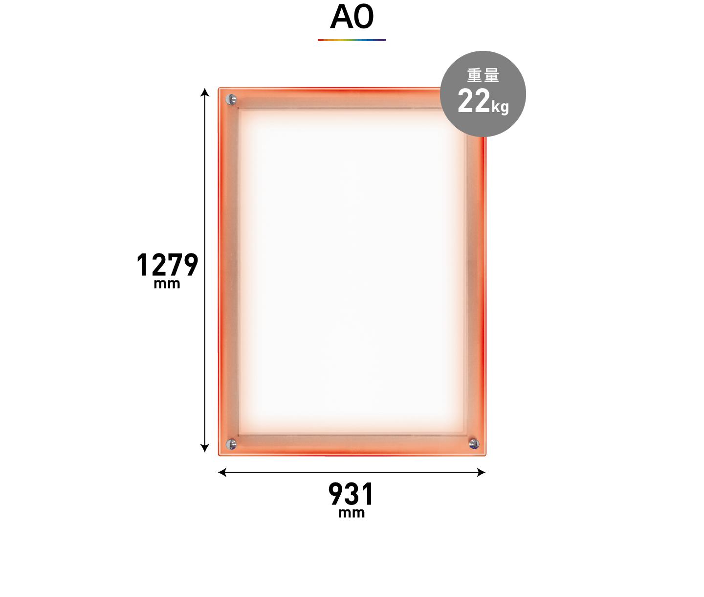 A0のサイズ
