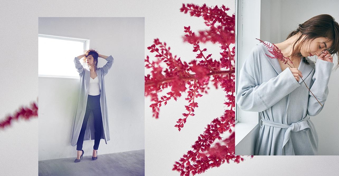 女優の佐々木希 キャミソール着用イメージ