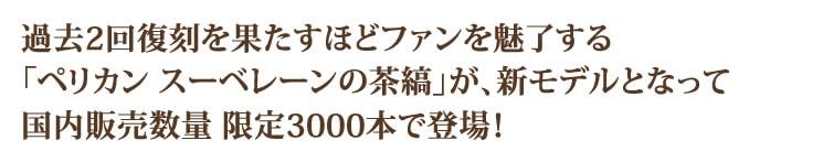 国内販売数量 限定3000本