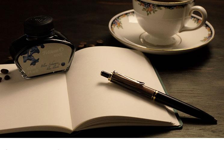 スーベレーン 400 茶縞 ボールペンの魅力