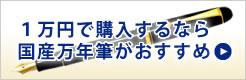 1万円で購入するなら国産万年筆がおすすめ