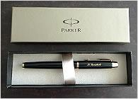 パーカーIMはメーカーの箱入りでお届けします。