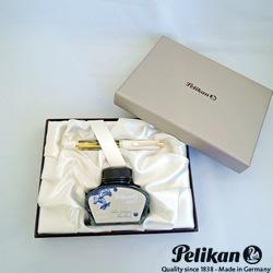 【ペリカン】スーベレーン M400 ホワイトトータス(万年筆)≪ボトルインクおまけ付≫