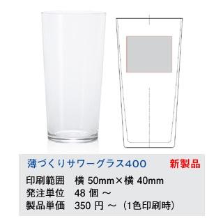 薄づくりサワーグラス
