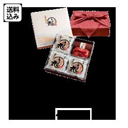 【風呂敷包】国産半生讃岐うどん「うどん丸」