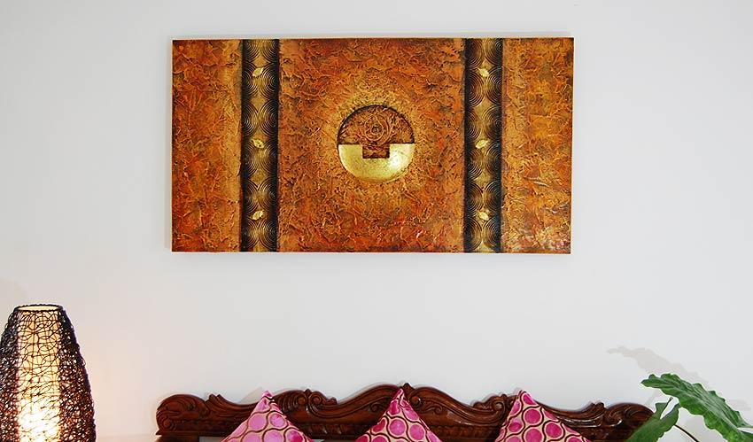 バリアート、絵画。モダンな抽象画