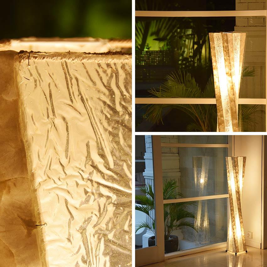 アジアン照明だけでなく、リゾート、コースタル、西海岸風の照明