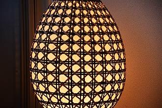 アジアン照明。和モダンなラタンのフロアライト