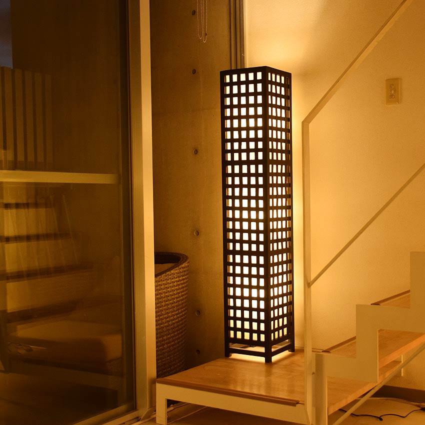 アジアン照明。ラタンの和風間接照明