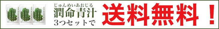 潤命青汁(じゅんめいあおじる)3袋セット送料無料