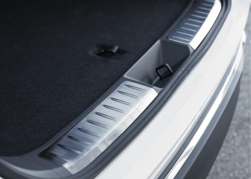 新型ハリアー 80系 ラゲッジ スカッフプレート 2P