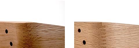 カリモク家具の美しい木材加工