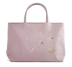 道中バッグ「結い葵」  A. あずき