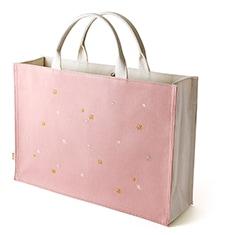 トートバッグ「星夜」 A. ピンク