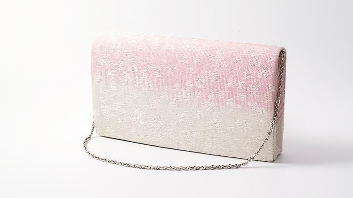 和装バッグ・パーティーバッグ 2wayクラッチバッグ「切金散らし」A 着物・振袖用ハンドバッグ 成人式・パーティー用 井澤屋