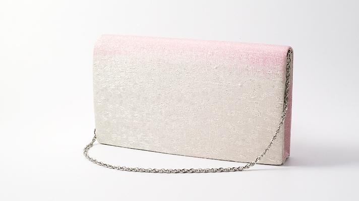 和装バッグ・パーティーバッグ 2wayクラッチバッグ「切金散らし」B 着物・振袖用ハンドバッグ 成人式・パーティー用 井澤屋