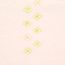 帯揚げ 吸い上げぼかし菱柄刺繍 A. ピンク
