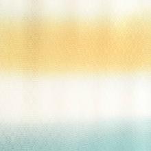 帯揚げ 菱紋意匠横段ぼかし E. 黄金×青