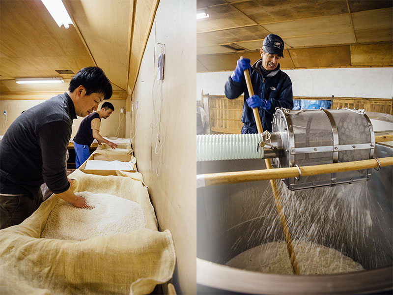 玉櫻酒造 作業1