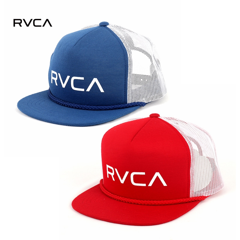 RVCA Mens Foamy Trucker Hat