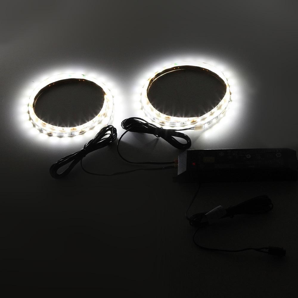 コレクションラックレギュラー、コレクションラックワイド兼用 専用LEDモジュール ロータイプ専用 CR-LED-L 使用例01