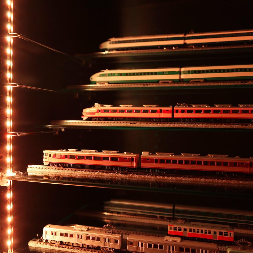 コレクションラック ワイド 奥行29cm専用ひな壇 Mサイズ 1枚 CR-T8329HM 使用例1