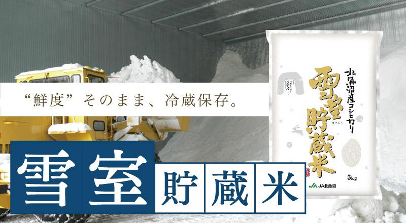 雪室貯蔵米 厳選北魚沼産コシヒカリ