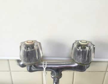 ツーホール水栓タイプの写真