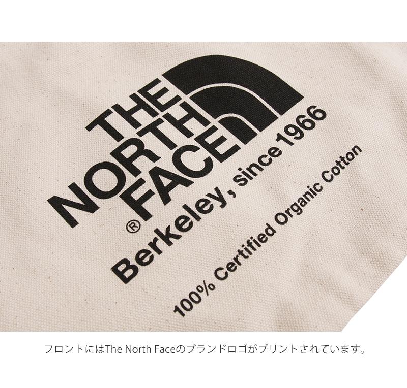 TNFオーガニックコットントート ノースフェイス トートバッグ エコバッグ THE NORTH FACE nm81765