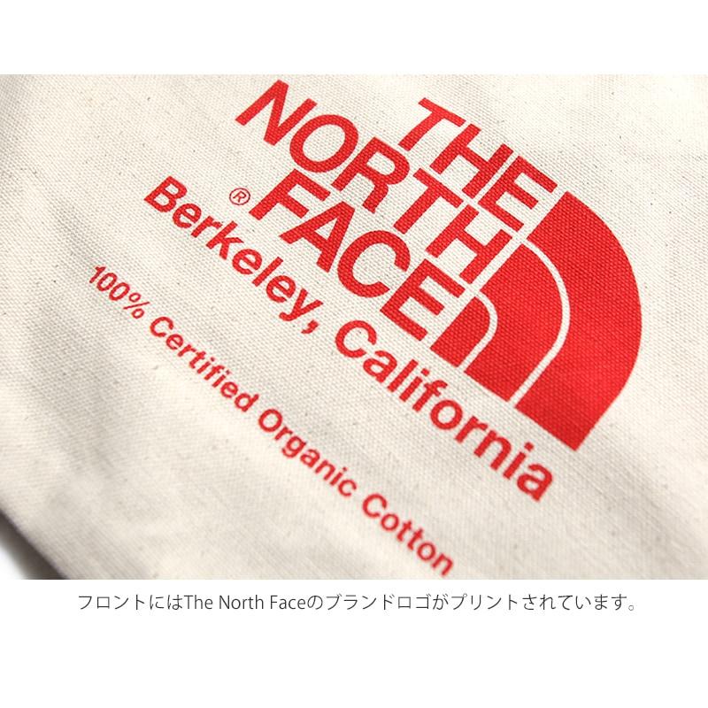 TNFオーガニックコットントート ノースフェイス トートバッグ エコバッグ THE NORTH FACE