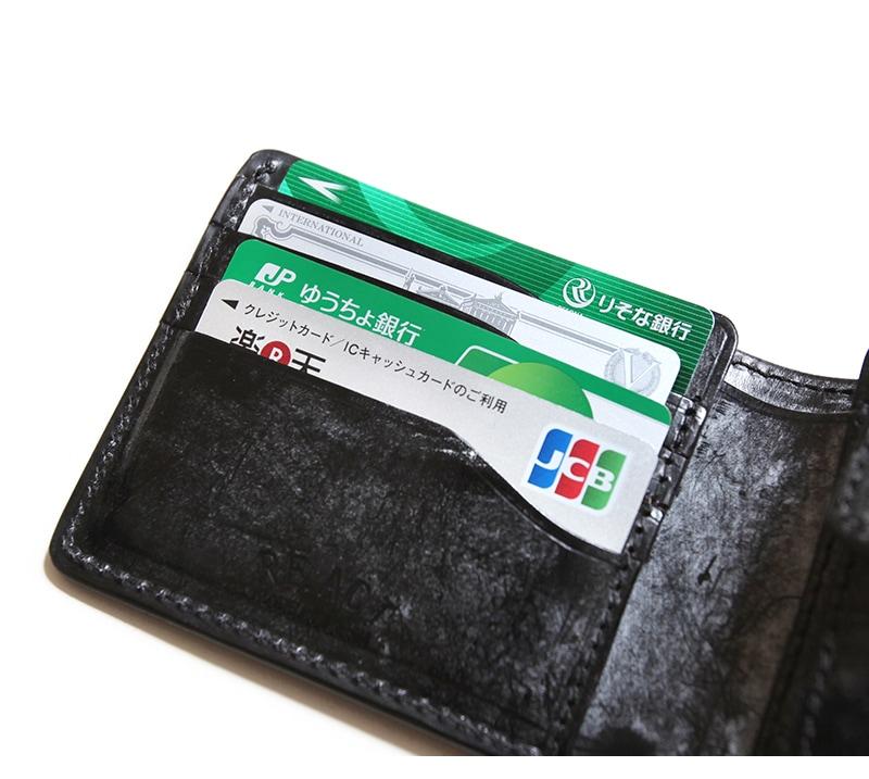 リアクト RE.ACT ブライドル ビルフォールド ウォレット Braidle Billfold Wallet 二つ折り財布