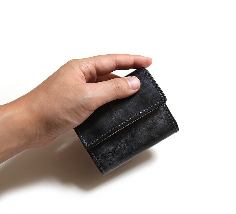 リアクト RE.ACT ブライドル スリーフォールド コンパクトウォレット 三つ折り財布