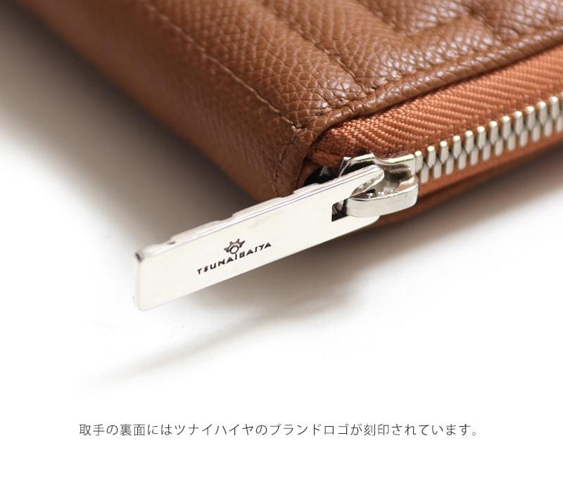 ツナイハイヤ フェノメノ ラウンドジップウォレット Tsunai Haiya Fenomeno Round Zip Wallet 二つ折り財布