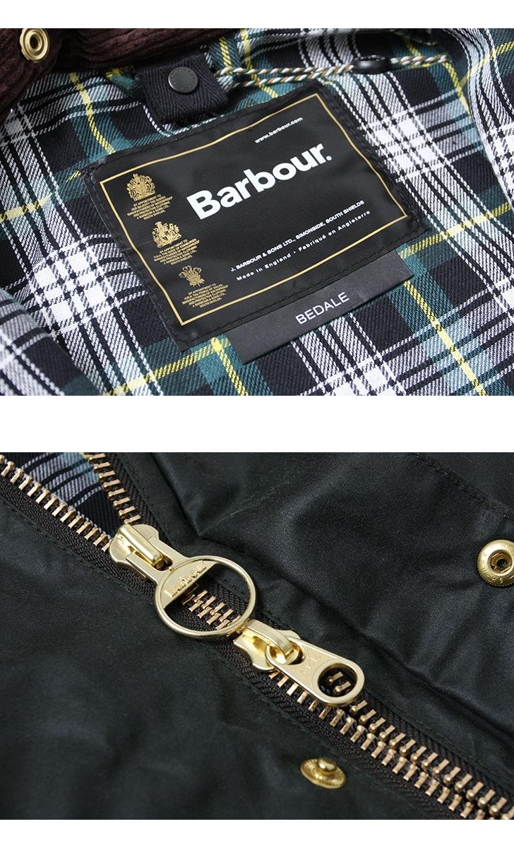Barbour バブアー BEDALE ORIGINAL for A&F ビデイル オリジナル A&F別注 メンズ MWX1241