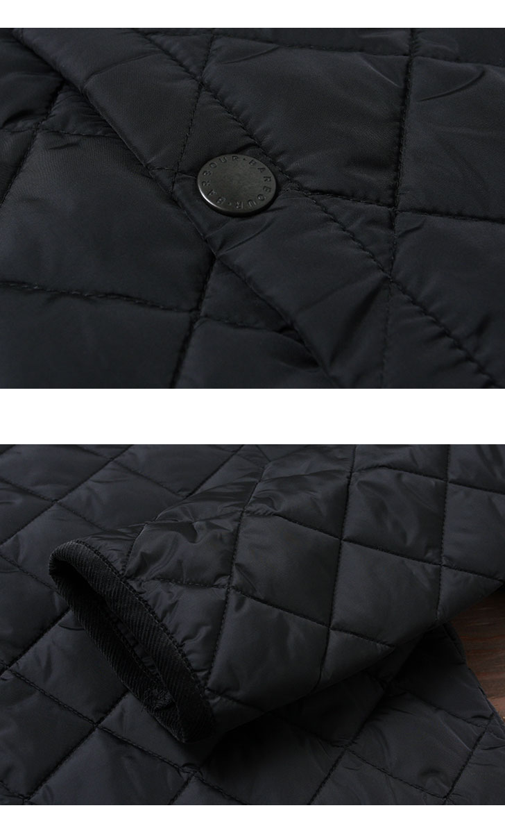 Barbour バブアー LIDDESDALE SL NYLON リッズデイル スリムフィット ナイロン メンズ キルティングジャケット SMQ0001