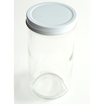 広口ガラス瓶
