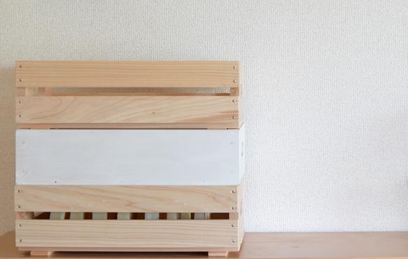 手作り石けん木箱