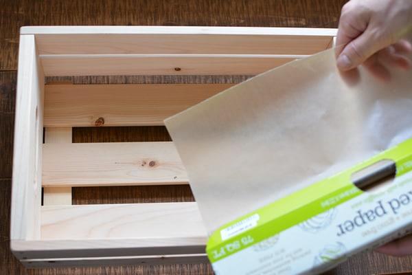 手作り石鹸用木箱