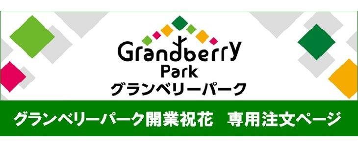 グランベリーパーク開業祝花