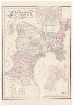 大日本管轄分地図 宮城県管内全図