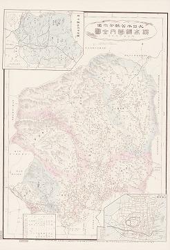 大日本管轄分地図 栃木県管内全図